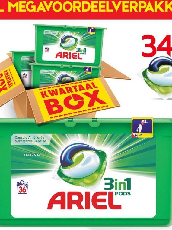Megavoordeelpakket Ariel 3in1 PODS