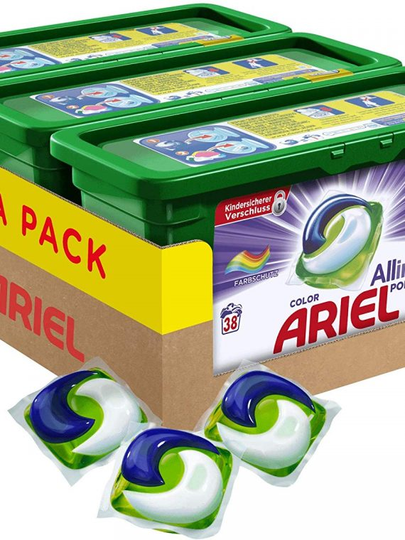 114 color Ariel pods
