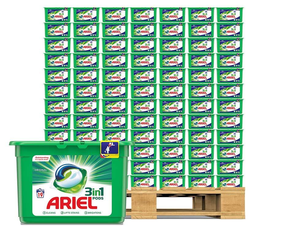 Ariel pods aanbieding